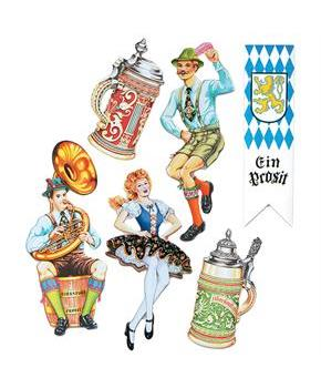 Oktoberfest Cutouts - Multi - 20 In.