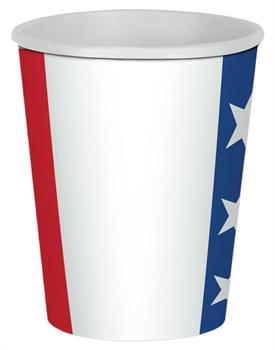PATRIOTIC BEVERAGE CUPS 9 OZ 8