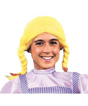 Yellow Pigtail Wig