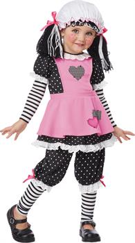 Girl's Rag Doll Costume