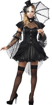 Women's Victorian Doll Costume for Halloween