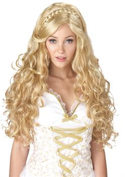 Women's Greek Goddess Wig - Color: Blonde