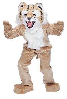 Adult Bobcat Mascot Costume