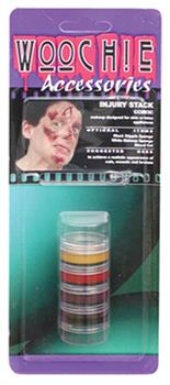 Injury Makeup Kit With Stack Card