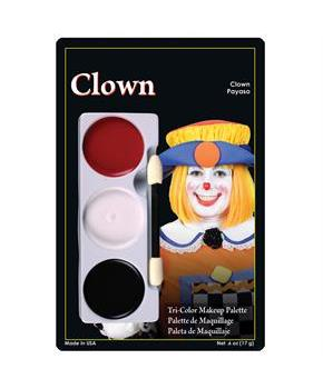 Clown Tri-Color Makeup Palette