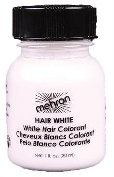 Mehron Hair White 1 oz.