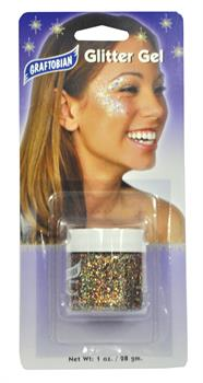 Multi Colored Glitter Gel 1 Oz