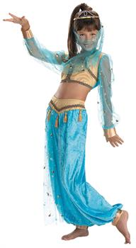 Girls Girl's Genie Child Costume
