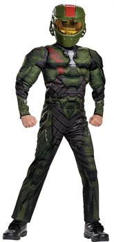 Boys Halo Wars Jerome Muscle Child Costume
