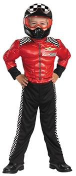 Boy's Racer Toddler Costume