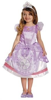 Girls Girl's Sofia The First Deluxe Costume