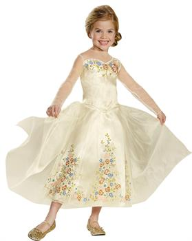 Girl's Cinderella Wedding Dress Costume
