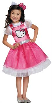 Girls Girl's Hello Kitty Costume
