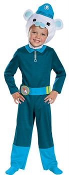 Captain Barnacles Classic Costume 3T-4T
