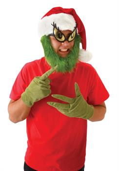 Grinch Hat With Beard