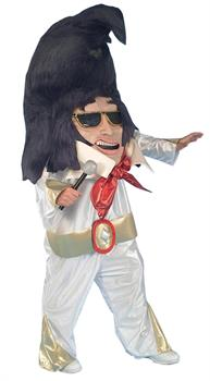 Adult Elvis Mascot Costume