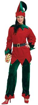 Women's Deluxe Adult Elf - Extra Large