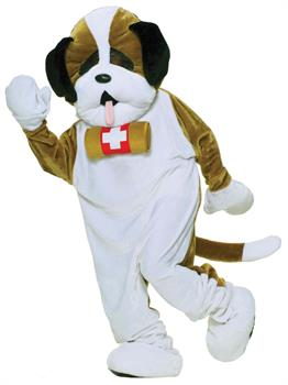 Adult Puppy Mascot Costume