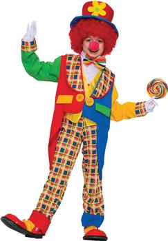 Boys Unisex Clown Costume - 8-10