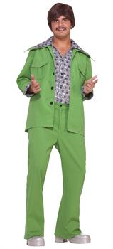 Men's Green Leisure Suit Costume