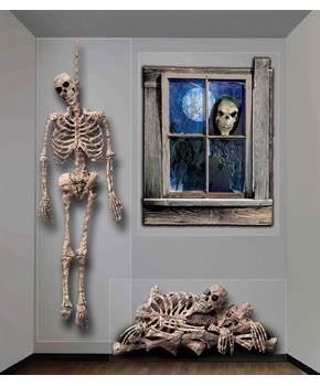 Skeleton and Reaper Wall Decor