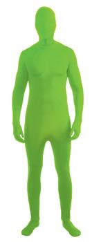 Adult Neon Green Skin Suit