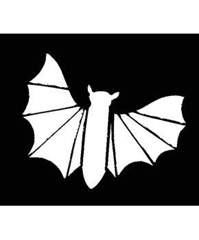 Stencil Bat, Stainless