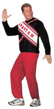 Men's Cheerleader Costume