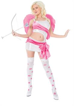 Women's Playboy Cupid Costume - Medium (10-12)