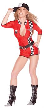 Women's Playboy Racy Racer Costume