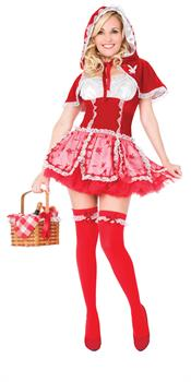 Women's Playboy Little Red Vixen Costume