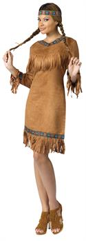 Women's American Indian Costume