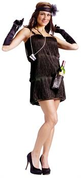 Women's Boot leg Flapper Costume