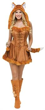 Women's Lady Fox Costume