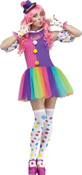 Women's Clownin Around Costume