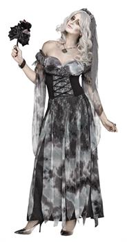 BRIDE COSTUME ADULT COSTUME SM