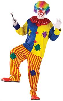 Men's Big Top Clown Adult Costume - Plus Size