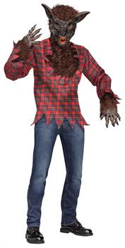 Werewolf Brown Adult Costume