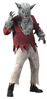 Grey Werewolf Adult Costume