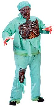 Adult Zombie Doctor Plus Size Costume