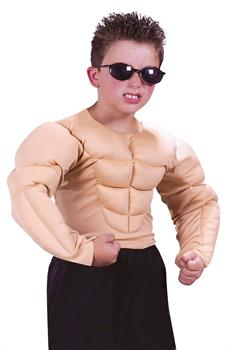 Muscle Shirt Boy's Costume