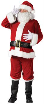 Men's Plus Size Santa Suit