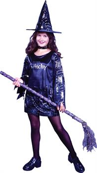 Girls Girl's Little Witch Child Costume
