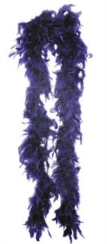 Boa 6Ft Gothic Feather Purp