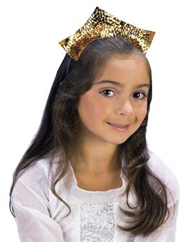 Princess Sparkling Gold Sequin Tiara