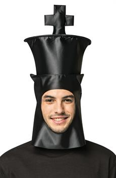 Chess King Adult Mask