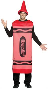 Red Crayola Crayon Adult Costume