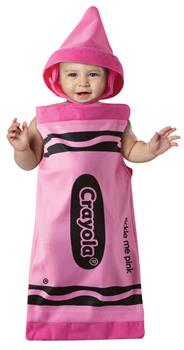 Pink Crayola Bunting Costume - Infant 3-6 months