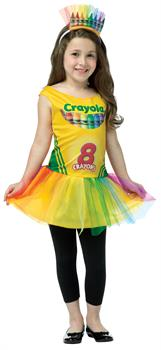 Girls Crayola Box Dress 4-6 - Standard