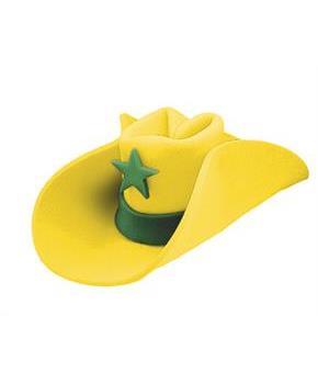 40 Gallon Hat Yellow - One Size